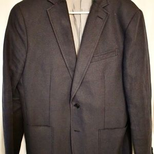 Banana Republic Navy Blue cotton Linen blazer